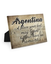 ARGENTINA A PLACE YOUR HEART REMAINS 10x8 Easel-Back Gallery Wrapped Canvas thumbnail