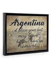 ARGENTINA A PLACE YOUR HEART REMAINS 14x11 Black Floating Framed Canvas Prints thumbnail