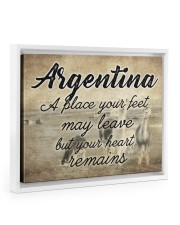 ARGENTINA A PLACE YOUR HEART REMAINS 14x11 White Floating Framed Canvas Prints thumbnail