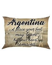 ARGENTINA A PLACE YOUR HEART REMAINS Rectangular Pillowcase tile
