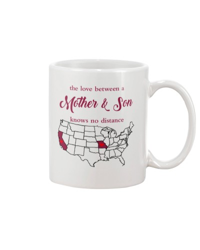 CALIFORNIA MISSOURI THE LOVE MOTHER AND SON
