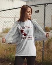 OHIO GIRL LIVING IN CALIFORNIA WORLD Classic T-Shirt apparel-classic-tshirt-lifestyle-07