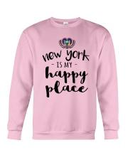 NEW YORK IS MY HAPPY PLACE Crewneck Sweatshirt thumbnail