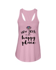 NEW YORK IS MY HAPPY PLACE Ladies Flowy Tank thumbnail