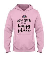 NEW YORK IS MY HAPPY PLACE Hooded Sweatshirt front