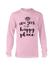 NEW YORK IS MY HAPPY PLACE Long Sleeve Tee thumbnail