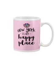 NEW YORK IS MY HAPPY PLACE Mug thumbnail
