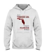 TENNESSEE GIRL LIVING IN FLORIDA WORLD Hooded Sweatshirt thumbnail