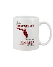 TENNESSEE GIRL LIVING IN FLORIDA WORLD Mug thumbnail