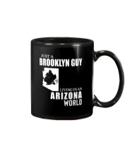 JUST A BROOKLYN GUY LIVING IN ARIZONA WORLD Mug thumbnail