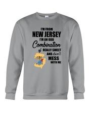 I'M FROM NEW JERSEY I'M AN ODD COMBINATION Crewneck Sweatshirt thumbnail