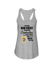 I'M FROM NEW JERSEY I'M AN ODD COMBINATION Ladies Flowy Tank thumbnail