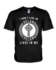 IRELAND LIVES IN ME V-Neck T-Shirt thumbnail