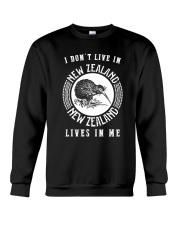 NEW ZEALAND LIVES IN ME Crewneck Sweatshirt thumbnail