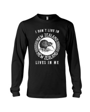 NEW ZEALAND LIVES IN ME Long Sleeve Tee thumbnail