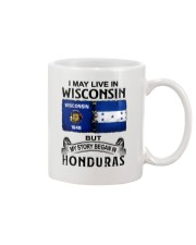 LIVE IN WISCONSIN BEGAN IN HONDURAS Mug thumbnail