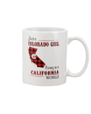 COLORADO GIRL LIVING IN CALIFORNIA WORLD Mug thumbnail