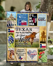 """TEXAS IT'S IN MY DNA Quilt 50""""x60"""" - Throw aos-quilt-50x60-lifestyle-front-01"""