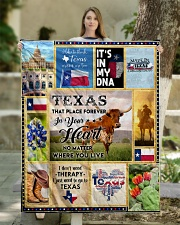 """TEXAS IT'S IN MY DNA Quilt 50""""x60"""" - Throw aos-quilt-50x60-lifestyle-front-03"""