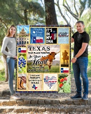 """TEXAS IT'S IN MY DNA Quilt 50""""x60"""" - Throw aos-quilt-50x60-lifestyle-front-04"""