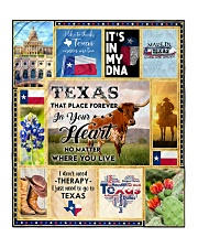"""TEXAS IT'S IN MY DNA Quilt 50""""x60"""" - Throw front"""