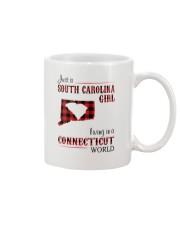 SOUTH CAROLINA GIRL LIVING IN CONNECTICUT WORLD Mug thumbnail