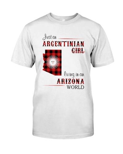 ARGENTINIAN GIRL LIVING IN ARIZONA WORLD