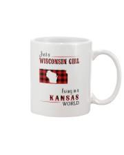 WISCONSIN GIRL LIVING IN KANSAS WORLD Mug thumbnail