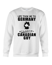 CANADIAN GUY LIFE TOOK TO GERMANY Crewneck Sweatshirt thumbnail