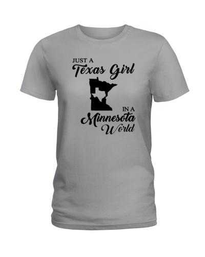 JUST A TEXAS GIRL IN A MINNESOTA WORLD