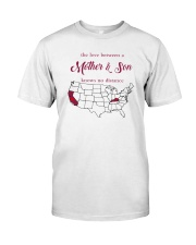 KENTUCKY CALIFORNIA THE LOVE MOTHER AND SON Classic T-Shirt thumbnail