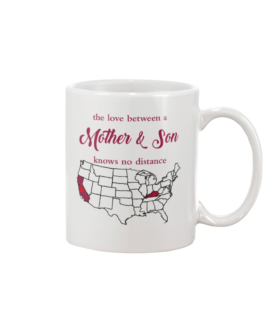 KENTUCKY CALIFORNIA THE LOVE MOTHER AND SON Mug