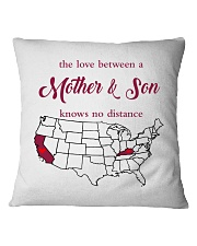 KENTUCKY CALIFORNIA THE LOVE MOTHER AND SON Square Pillowcase thumbnail
