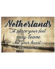 NETHERLANDS A PLACE YOUR HEART REMAINS 24x16 Poster front