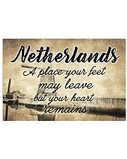 NETHERLANDS A PLACE YOUR HEART REMAINS Horizontal Poster tile