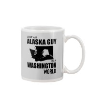 JUST AN ALASKA GUY IN A WASHINGTON WORLD Mug thumbnail