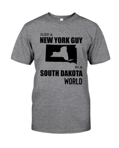 JUST A NEW YORK GUY IN A SOUTH DAKOTA WORLD