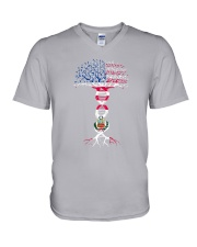 AMERICA PERU ROOTS V-Neck T-Shirt thumbnail