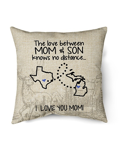 MICHIGAN TEXAS THE LOVE MOM AND SON