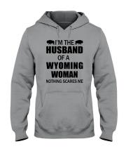 I'M THE HUSBAND OF A WYOMING WOMAN Hooded Sweatshirt thumbnail