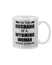 I'M THE HUSBAND OF A WYOMING WOMAN Mug thumbnail