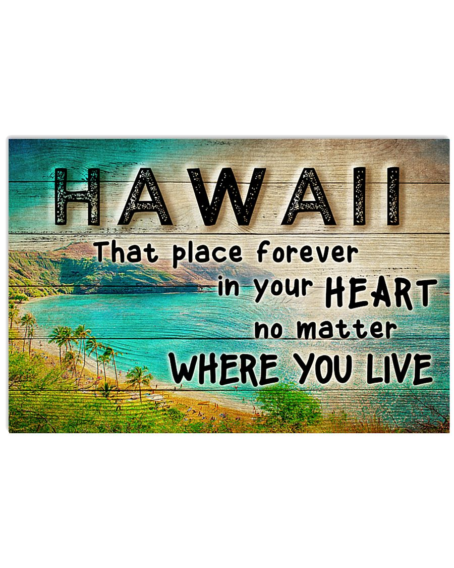HAWAII THAT PLACE FOREVER IN YOUR HEART 24x16 Poster