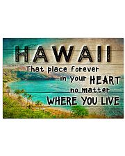 HAWAII THAT PLACE FOREVER IN YOUR HEART Horizontal Poster tile