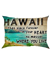 HAWAII THAT PLACE FOREVER IN YOUR HEART Rectangular Pillowcase thumbnail