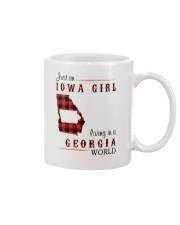 IOWA GIRL LIVING IN GEORGIA WORLD Mug thumbnail