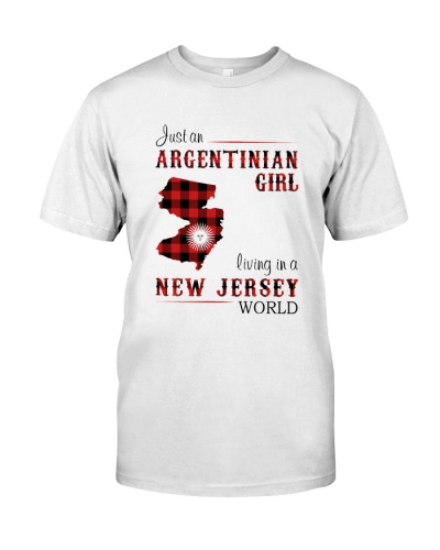 ARGENTINIAN GIRL LIVING IN NEW JERSEY WORLD