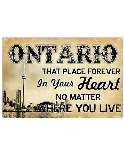 ONTARIO THAT PLACE FOREVER IN YOUR HEART