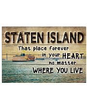 STATEN ISLAND THAT PLACE FOREVER IN YOUR HEART 17x11 Poster front