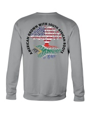 AMERICAN GROWN WITH SOUTH AFRICAN ROOTS Crewneck Sweatshirt thumbnail