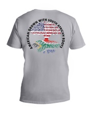 AMERICAN GROWN WITH SOUTH AFRICAN ROOTS V-Neck T-Shirt thumbnail